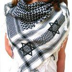 Keffieh, histoire et origine du foulard palestinien original traditionnel
