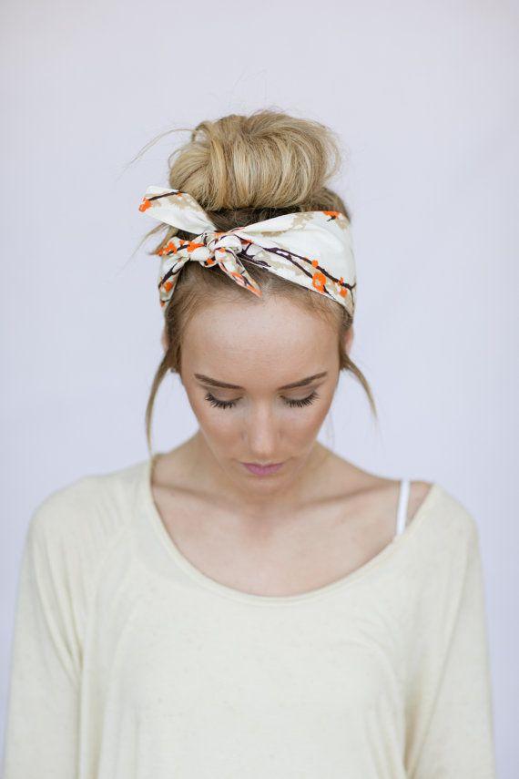 mettre foulard cheveux