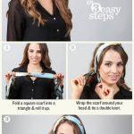 Comment mettre, nouer un foulard en bandeau cheveux ou headband ?