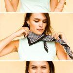 Comment plier, attacher un bandana sur la tête ou autour du cou?