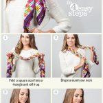 Comment porter et nouer une écharpe qui tient chaud en hiver ?
