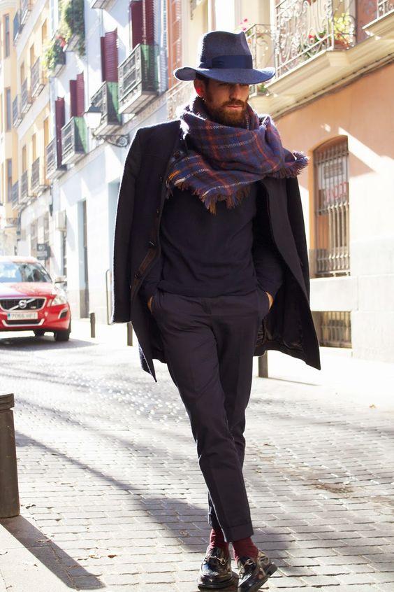 foulard pour homme mode emploi