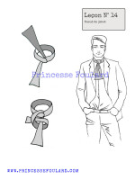lecon numéro 14 : nœud de Jabot pour homme