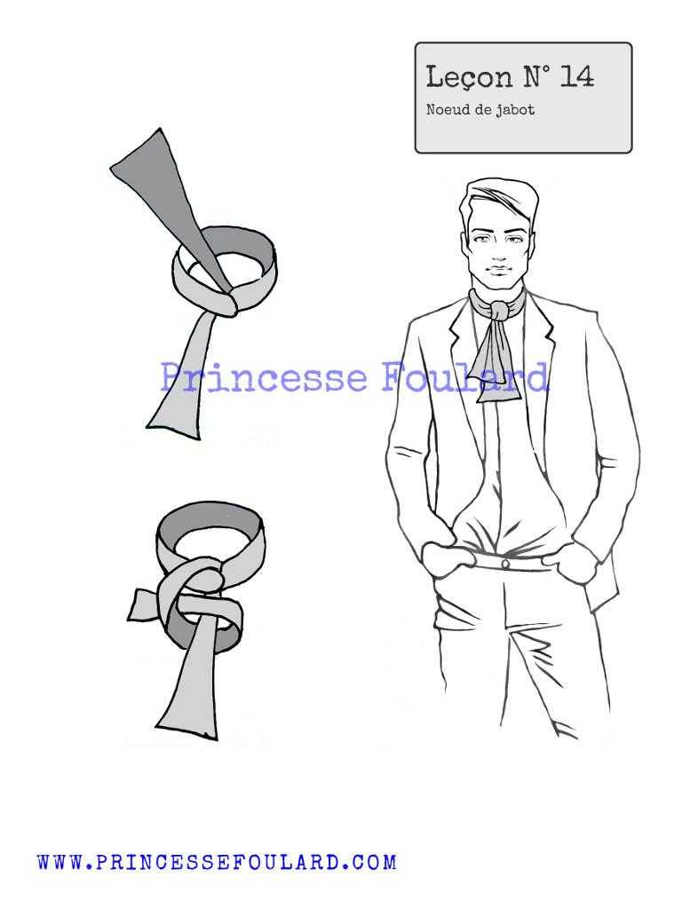 Nouer son foulard en jabot