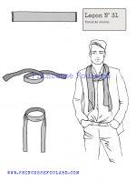 Leçon numéro 31 : Nœud de cheche pour homme