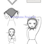 Noeud de foulard marin - Comment porter la marinière look chic ?