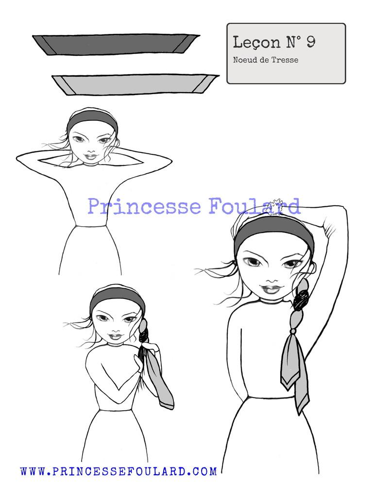 Comment faire une ou deux tresses cheveux en natte avec un - Comment faire un noeud papillon avec un ruban ...