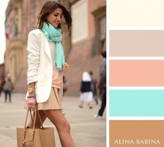 foulard couleur tendance automne