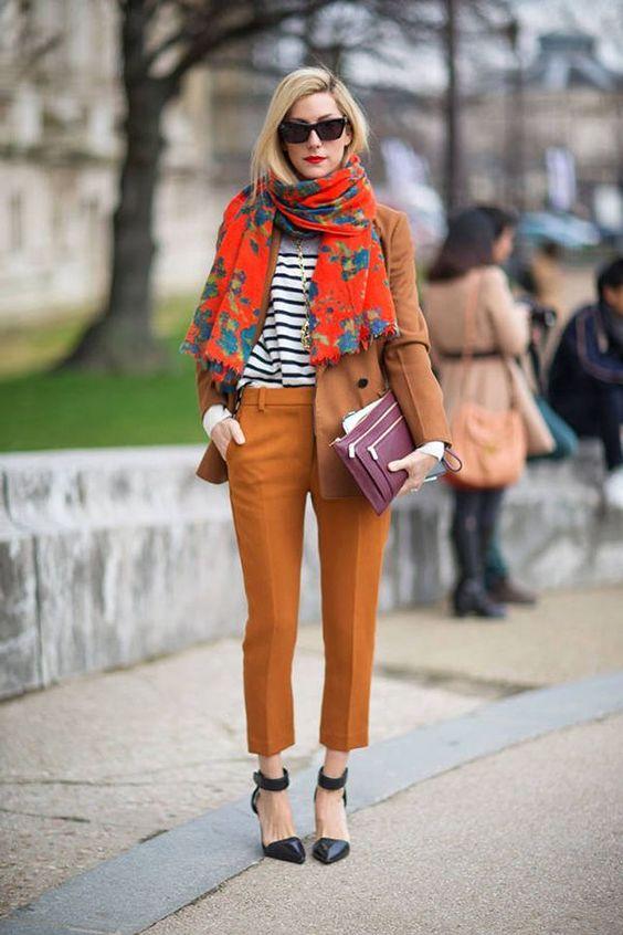idee look style foulard femme