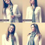 Comment s'habiller tous les jours en foulard ? idée look homme femme