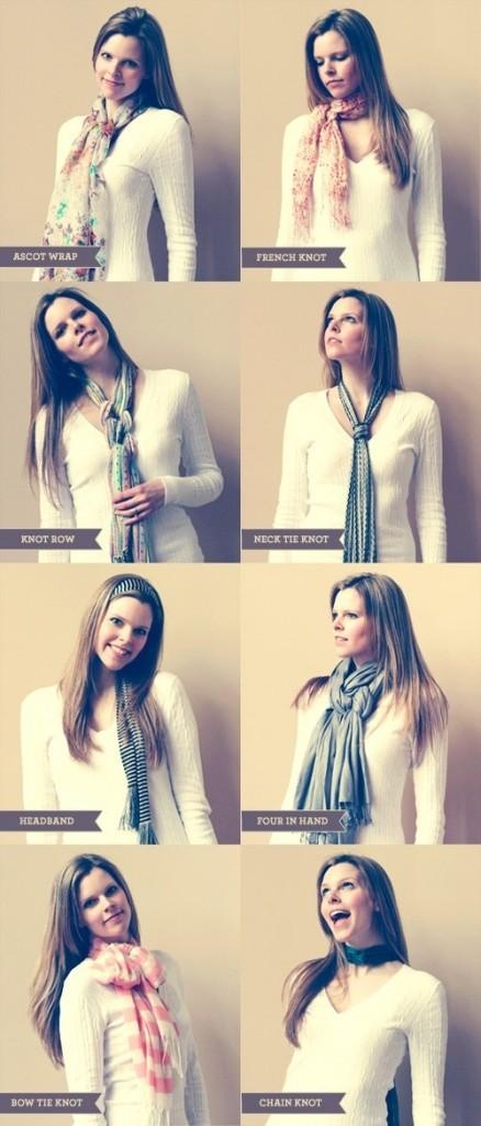 look avec foulard