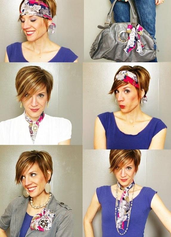 manieres porter foulard