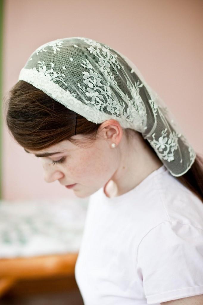 mettre foulard mariage