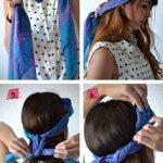 Comment faire une fleur avec un foulard ?