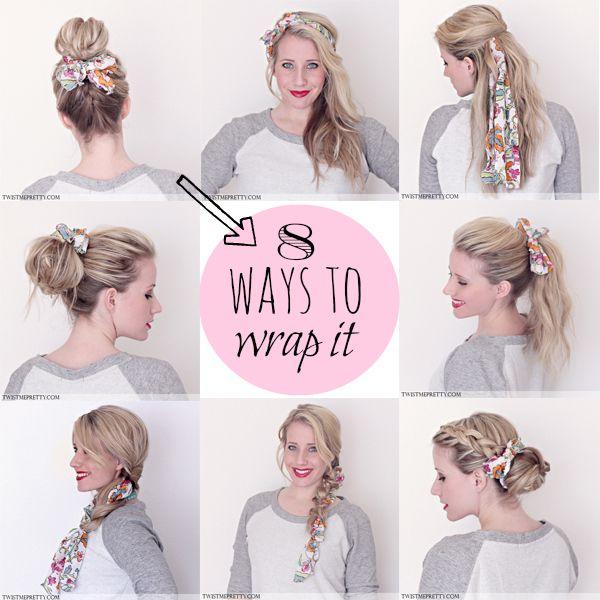comment se coiffer avec foulard