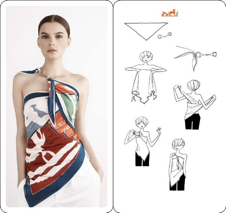 4db254cb6ee2 Comment fabriquer un foulard carré en soie