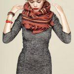 Foulard et écharpe couleurs tendance mode Automne hiver 2014