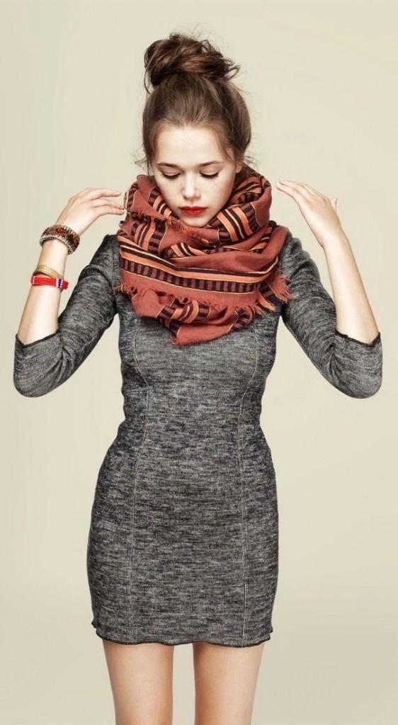 foulard tendance hiver 2014