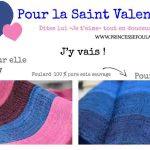 Idée cadeau de Saint Valentin de dernière minute livraison express 24h