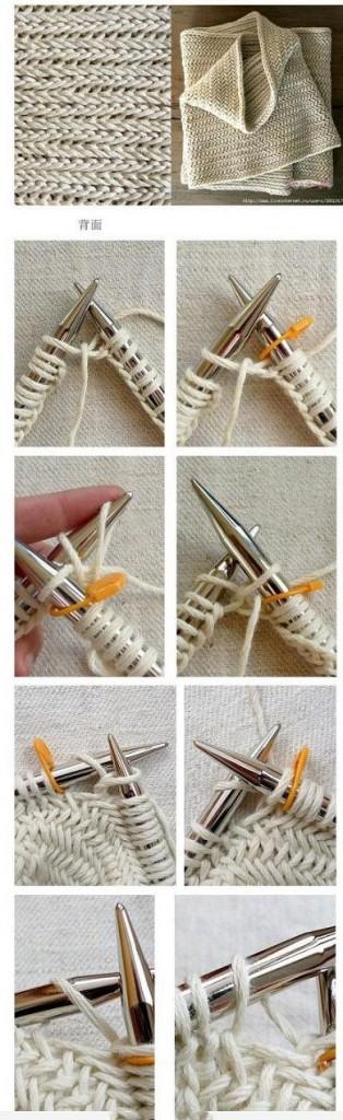comment tricoter echarpe