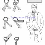 Comment faire un noeud de cravate jabot avec un foulard ?