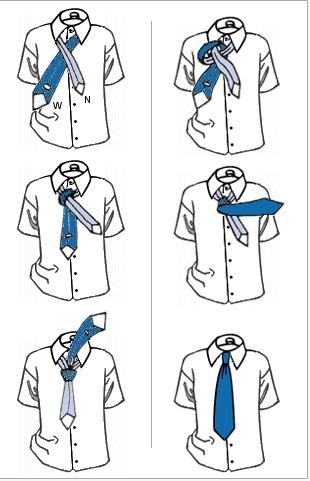 comment faire un noeud de cravate praat ou shelby avec un foulard. Black Bedroom Furniture Sets. Home Design Ideas