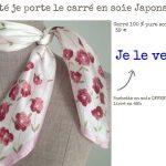 Foulard et écharpe japonaise à motifs japonais pour homme et femme