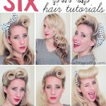 Comment mettre, nouer, porter foulard cheveux pin up ?