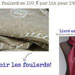 Acheter un foulard ou une écharpe en lin naturel pour homme et femme