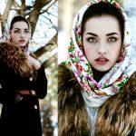 Comment porter et nouer un foulard russe ?