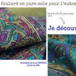 Communiqué de presse - Foulards Automne Hiver