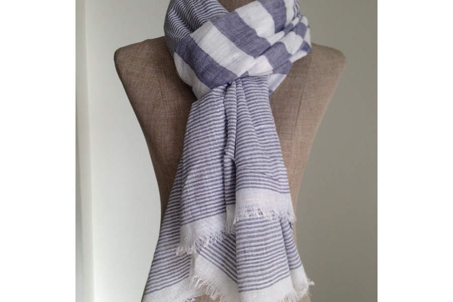 laver foulard en coton