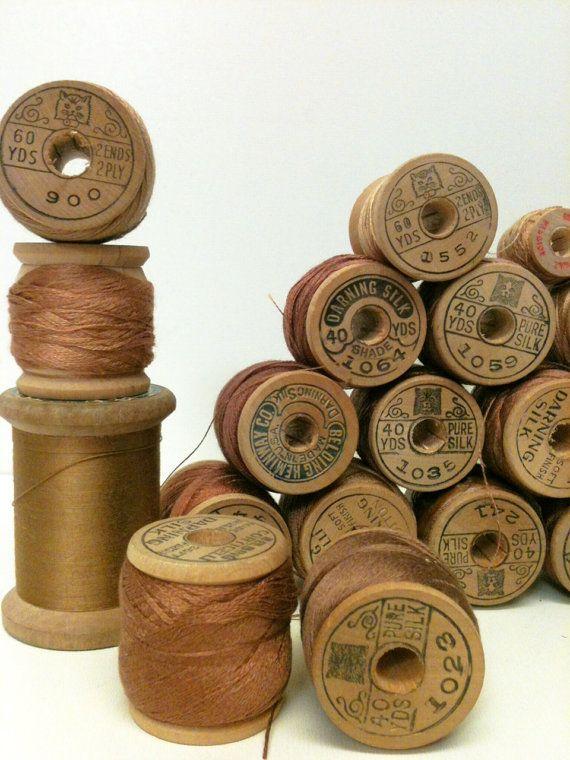Tissu soie sauvage et naturelle