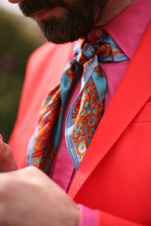 differents types et sortes de foulards