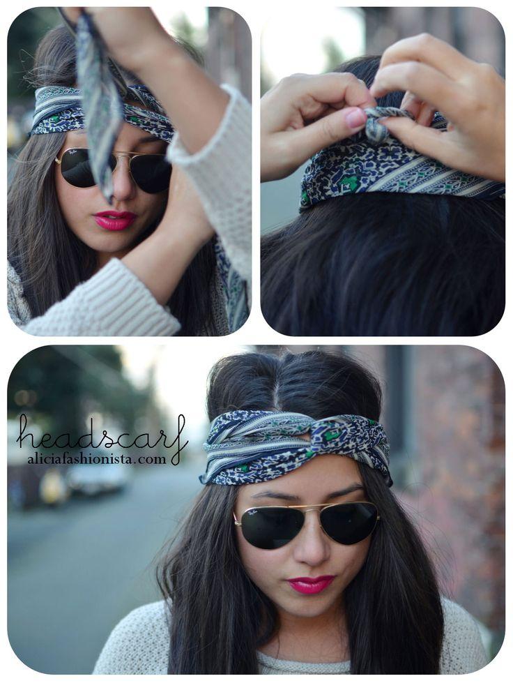 foulard tendance mode femme