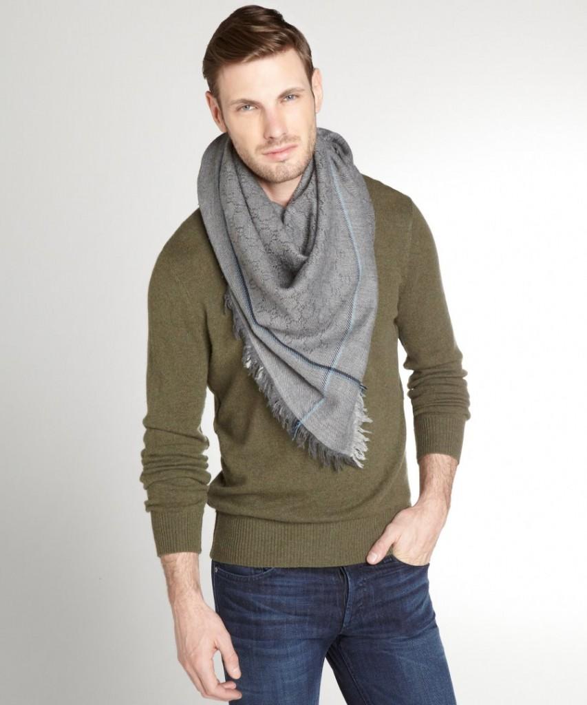 noeud pour foulard