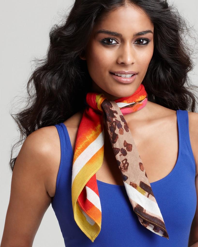 porter foulard selon occasion