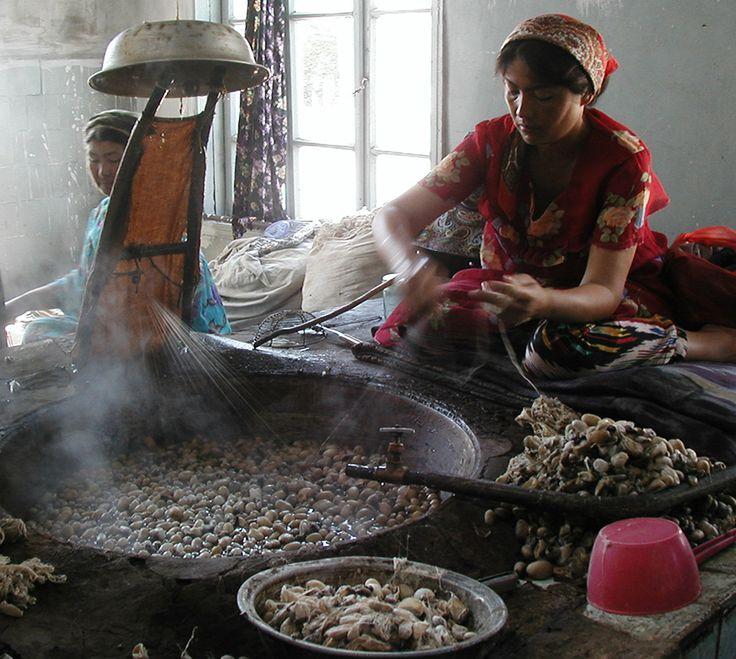 Cocon de soie - artisanat de la soie naturelle et sauvage