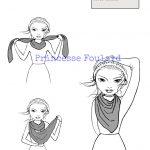 Comment porter, mettre, nouer un foulard de façon moderne ?