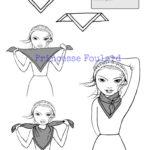 Nœud de foulard plat