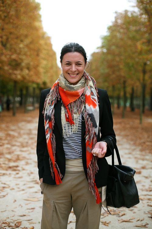 comment porter foulard selon morphologie