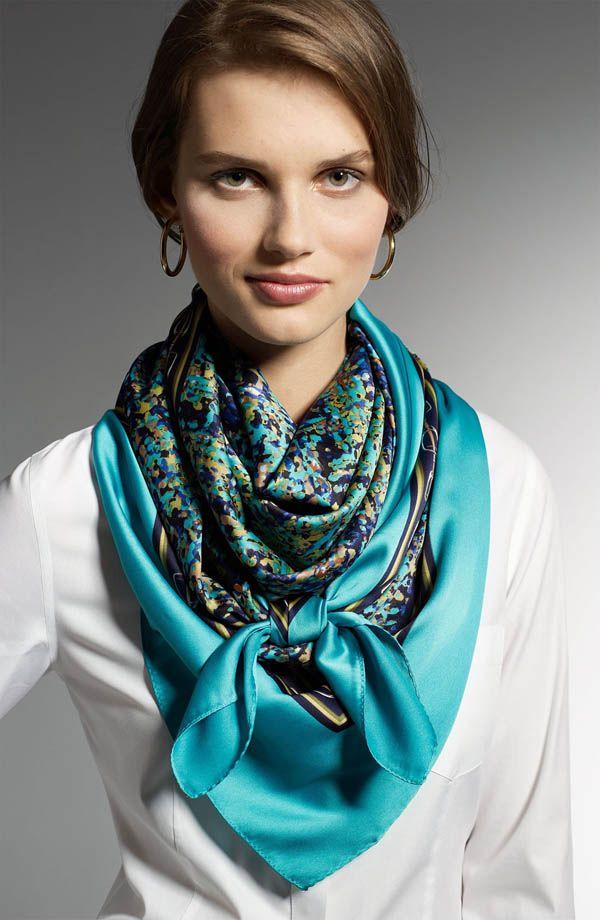 porter foulard selon morphologie