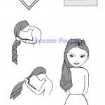Nouer son foulard en ruban