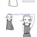 Nouer le foulard Top