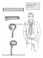 lecon numéro 3 : nœud de maillon pour homme