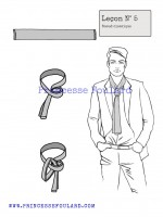 lecon numéro 5 : nœud de classique pour homme