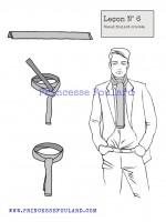 lecon numéro 6 : nœud de Cravate pour homme