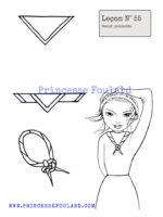 leçon numéro 55 : nœud de foulard jeannette
