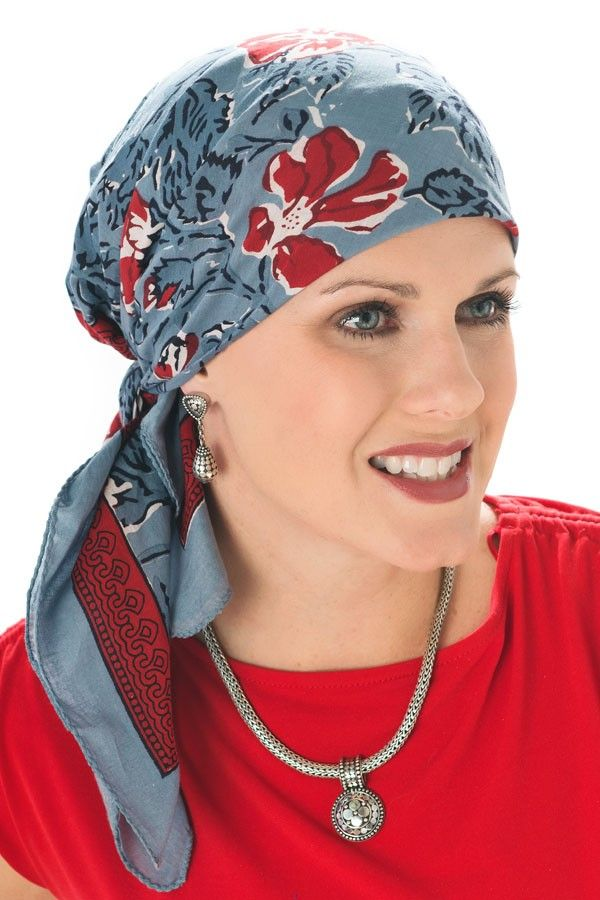 nouer foulard cancer chimio
