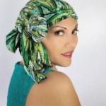 porter foulard chimio